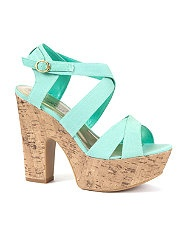 Love the color, but they'd be perfect in just a wedge!