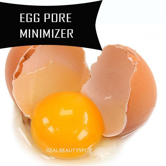 Egg Whites: Egg white is the best pore minimizer you can find in your kitchen easily and it gives you instant results. Take one egg white in a bowl and whisk it with a wire whisk until frothy. Now add 1 tbsp honey and 2-3 tbsp of milk in the mixture. Mix everything well and