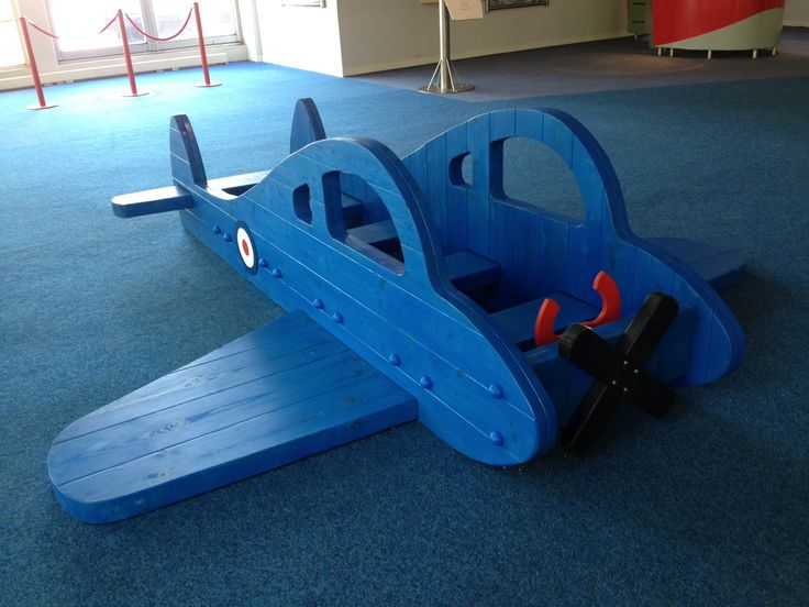 Playground plane in lancelot blue