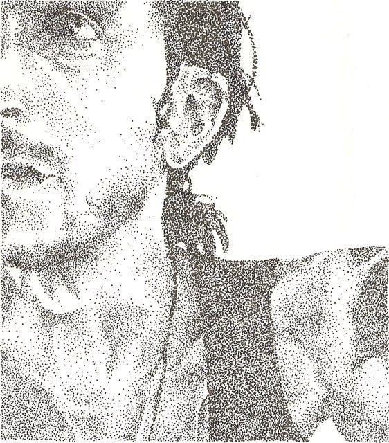 Jimmy - www.sereninspired.com  - pointillism