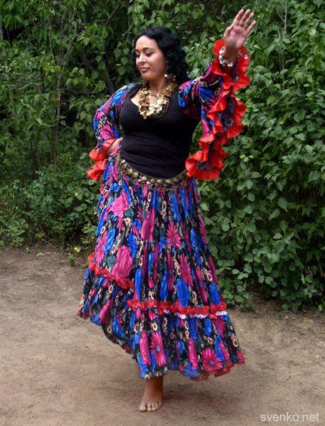 Gypsy dance, Lera Yanysheva
