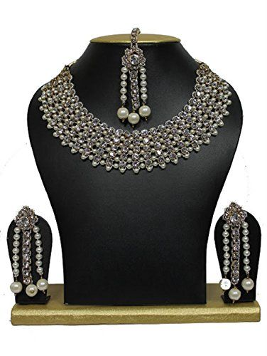 Indian Bollywood White Pearls Most Beautiful Kundan Gold ... https://www.amazon.com/dp/B01LKYC0AW/ref=cm_sw_r_pi_dp_x_JHtVyb48ZSG5G