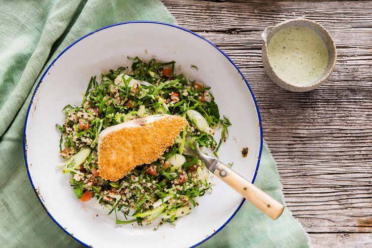Kingfish and quinoa salad | Lord Howe Island
