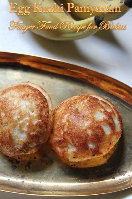 Egg Kuzhi Paniyaram Recipe