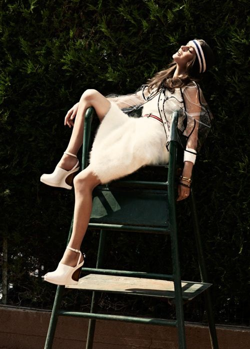 Elle Italia: Shoes, Tennis Style, Inspiration, Chic, Dress, Womensfitness Sportswear, Fashion Editorials, David Elle Italia Tennis 3 Jpg, David Burton