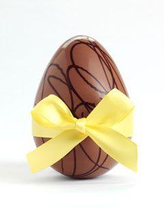 How to Make Homemade Chocolate Easter Eggs
