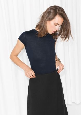 & Other Stories | Sheer Wool T-Shirt