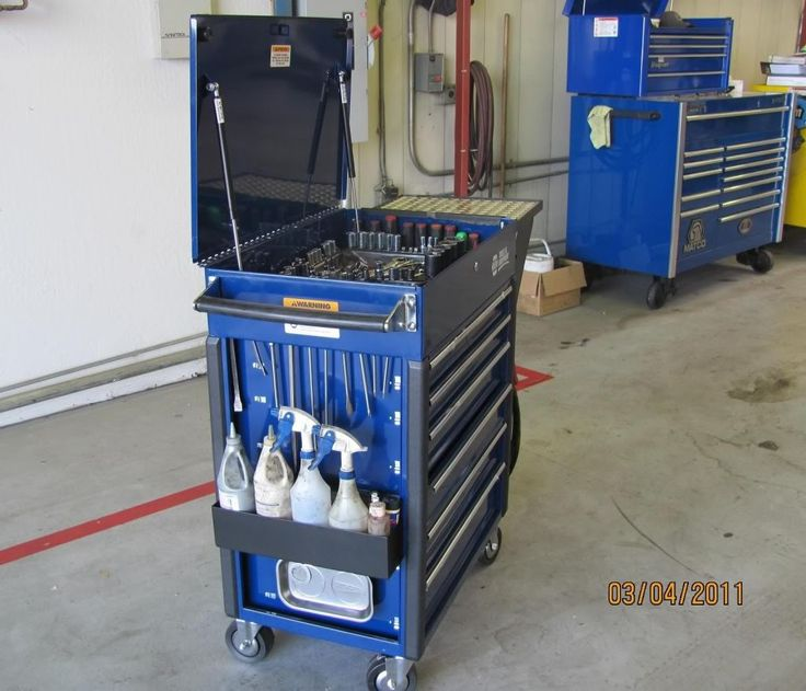 Lets See Your Tool Carts/Service Carts   The Garage Journal Board