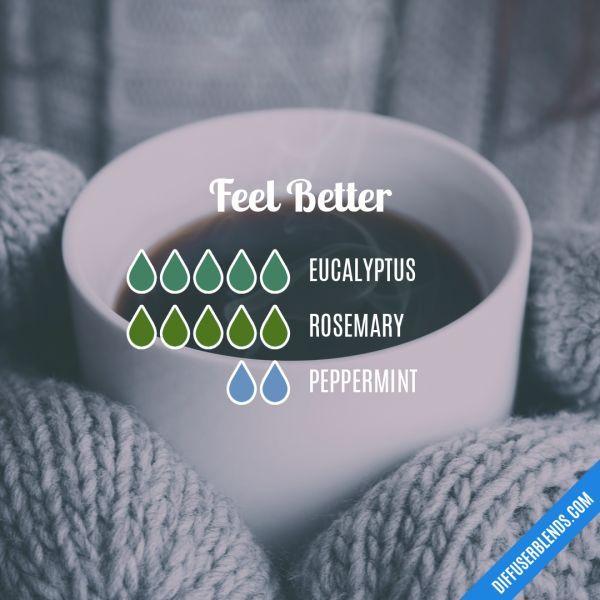 Feel Better - Essential Oil Diffuser Blend