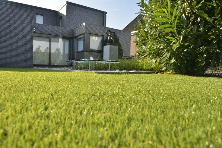 Kunstgras ideaal voor in tuinen!