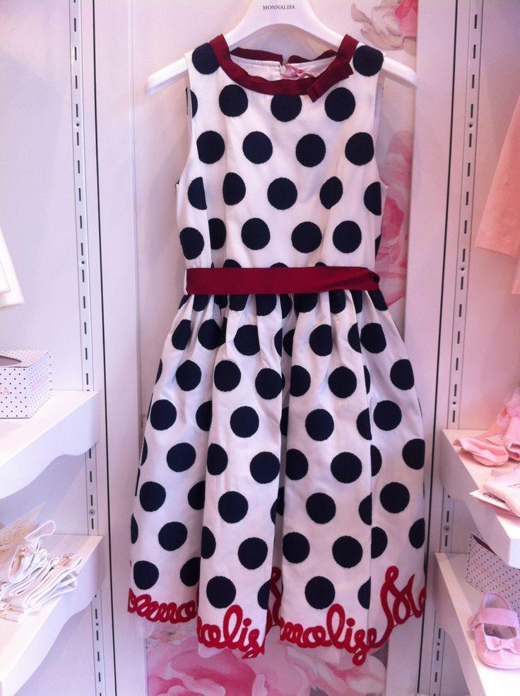 Monnalisa dress, beautiful and elegant!!