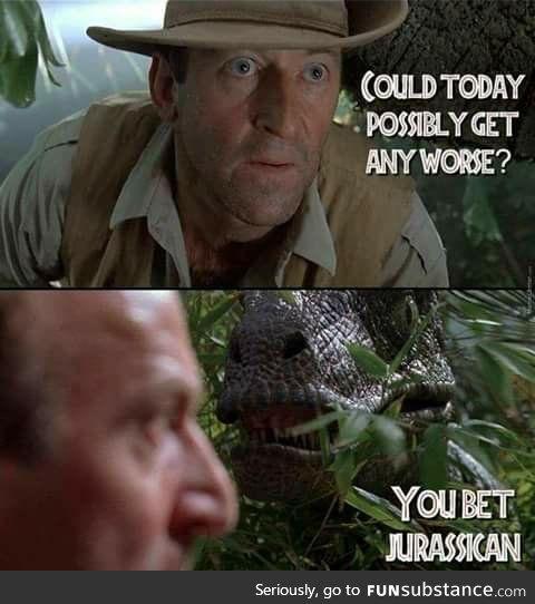 Clever girl   Jurassic Park