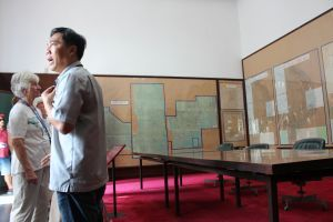Saigon - Reunification Palace. The War Room and the Bunker were particularly interesting, full of campaign maps of half-forgotten battles.