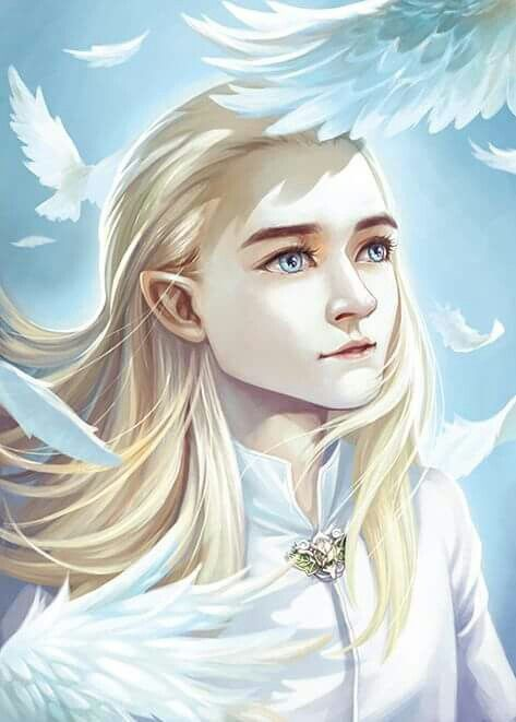 Young Legolas viewing the gardens of Mirkwood for the first time.(Alone) Or a young Thranduil...