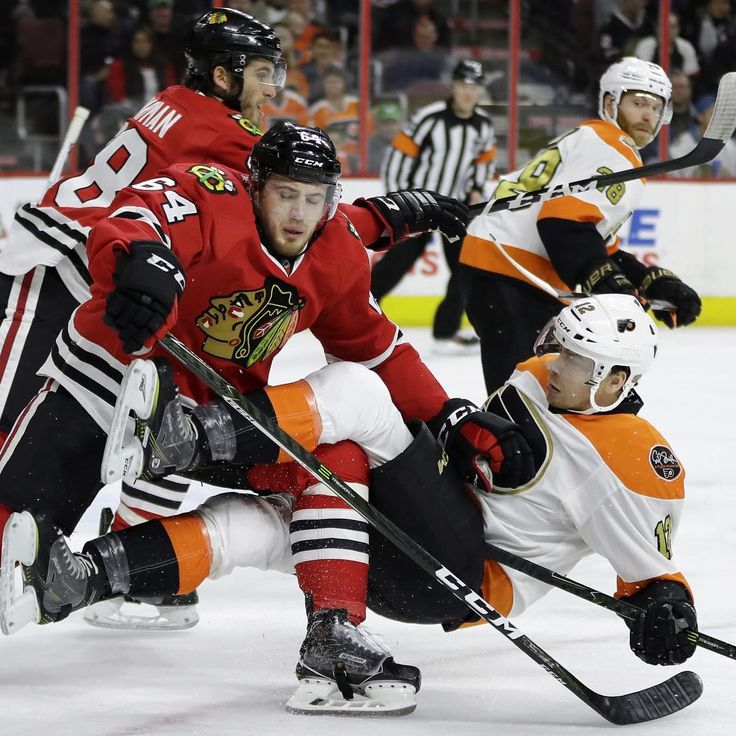 Flyers just could not beat Corey Crawford as they fall to Chicago 3-0. This is the 3rd time the Flyers have been shut out and its only been 13 games into the season. Brian Elliot kept them in this game as he allowed 2 goals on 34 shots. The third goal was an empty net. Flyers had at least 7 odd man rushes this game again they just couldnt beat Crawford. Flyers loose another defenseman to injury as Radko Gudas left in the 1st with an upper body injury after hitting his head into a players…