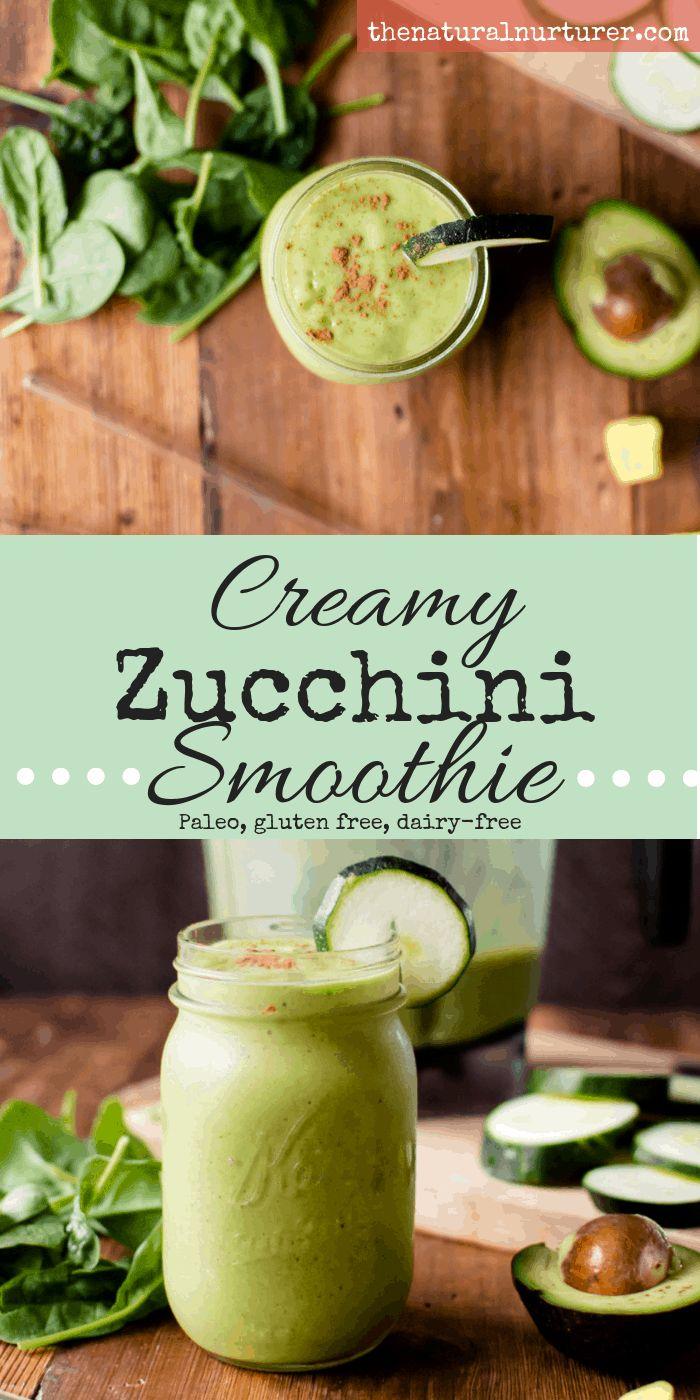 Zucchini in einem Smoothie? Ja, das kann eine Sache sein! Ein guter Weg, um zu verbrauchen …   – Best of The Natural Nurturer