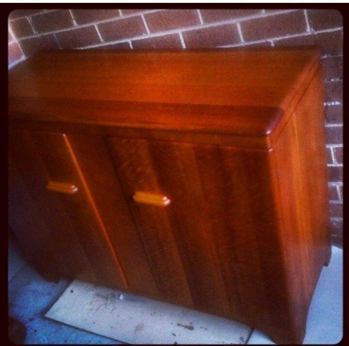 Vintage Fred Ward Myer Heritage Myrtle cabinet Sideboard retro mid century