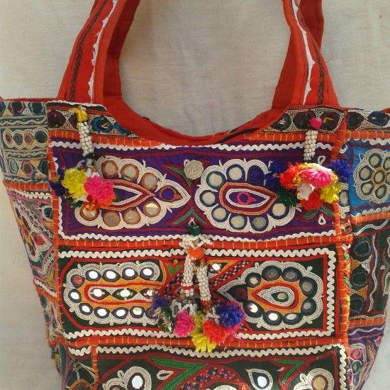 Banjara rabari embroidery bag