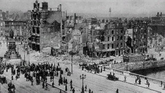 Aftermath of the 1916 Rising, Dublin