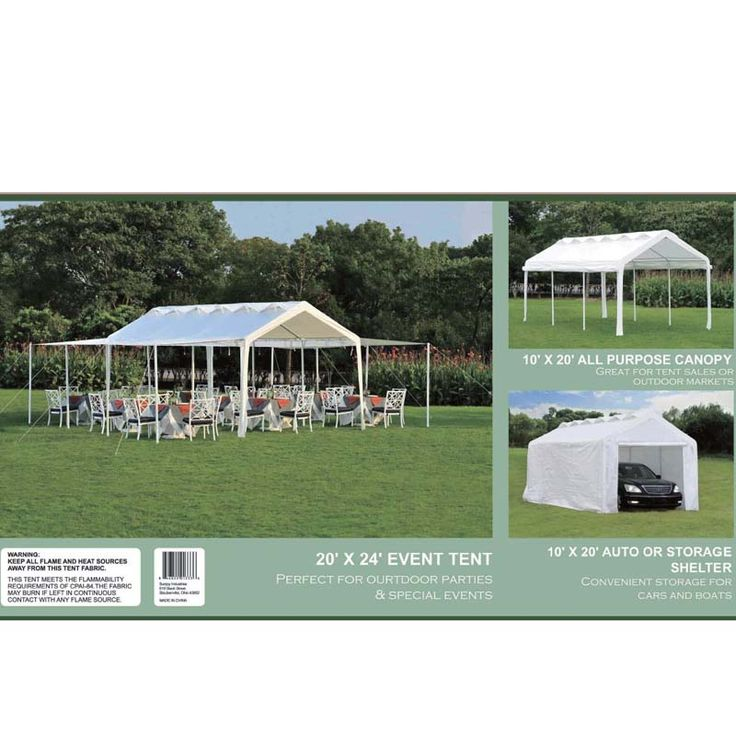 The fabric canopy on the shelters fails to comply with a voluntary flammability standard, posing a fire hazard to consumers. **AUGUST 27 RECALL DATE***