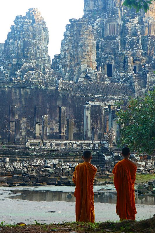 I've been here and want to see it again. Such an amazing place Angkor Wat, Cambodia