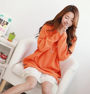 1bf210578 oversized orange sweater