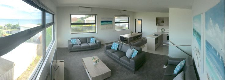 'Ocean-view On Orton' is a beautifully-presented, brand-new 3-bedroom luxury holiday apartment, boasting lovely sea views. Situated a mere 150m from the beach and 250m from the town centre, it is an ideal place to stay during your beach holiday for its comfort and convenience!