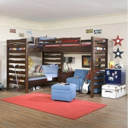 L Bunk Beds Legacy Classic Furniture Solutions L Shaped