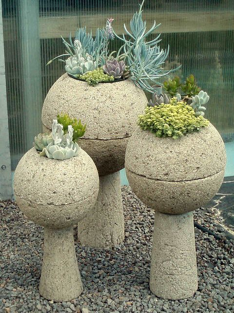 112 best images about hypertufa happy on pinterest for Garden pots portland