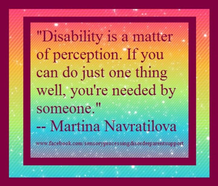 Inspirational Quotes About Positive: Quotes About People With Intellectual Disability. QuotesGram