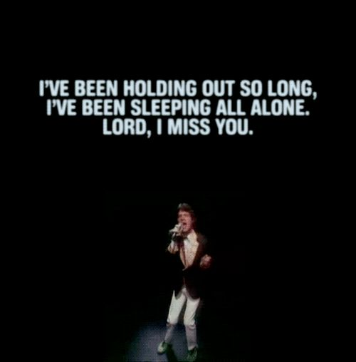 Lyrics to rolling stones miss you