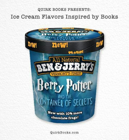 Berry Potter Ben & Jerry's -IS THIS REAL!?! :D