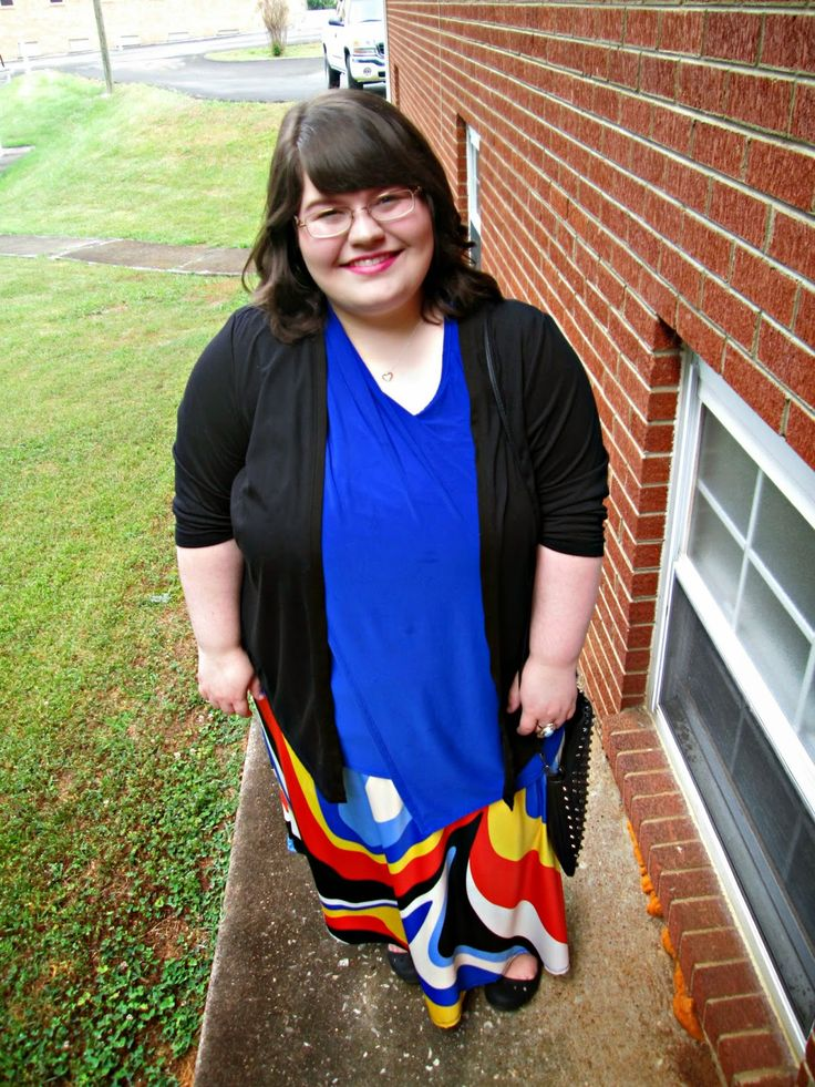 Unique Geek: Plus Size OOTD: The Toucan Skirt