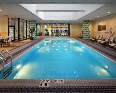Hilton Hotel Hartford, CT - Indoor Pool  | CT 06103