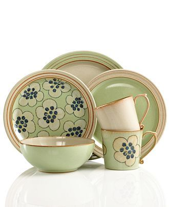 Denby Dinnerware Heritage Collection - Casual Dinnerware - Dining u0026 Entertaining - Macyu0027s  sc 1 st  Pinterest & 67 best Collectables - Pottery - Denby Pottery images on Pinterest ...