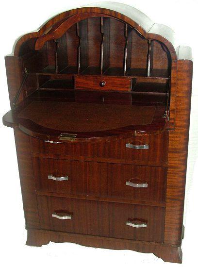 17 best ideas about bureau vintage on pinterest desk. Black Bedroom Furniture Sets. Home Design Ideas