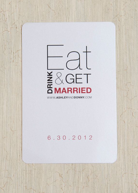 Eat Drink & Be Married Wedding Shower by kpstudiosdesigns on Etsy, $62.50