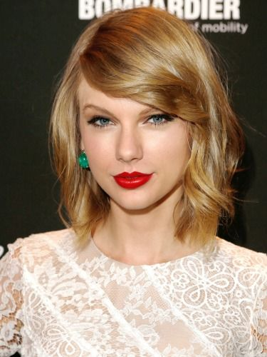"""5 New Hairstyles to Try for Spring, The It Girl style at a lot of major fashion events lately has been the long-ish bob, or """"lob"""". Taylor Swift makes it look effortlessly cool."""