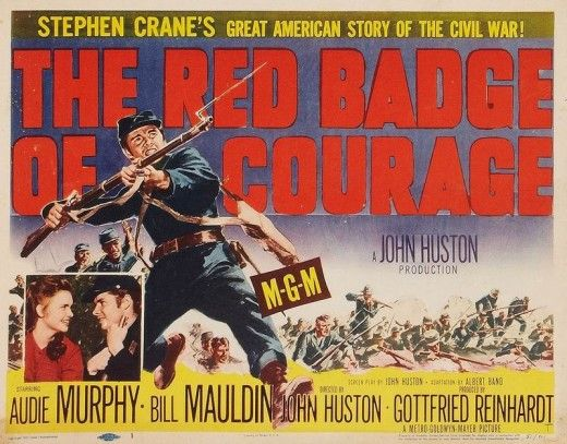 best the red badge of courage images crane  the red badge of courage 1950 audie murphy bill mauldin directed