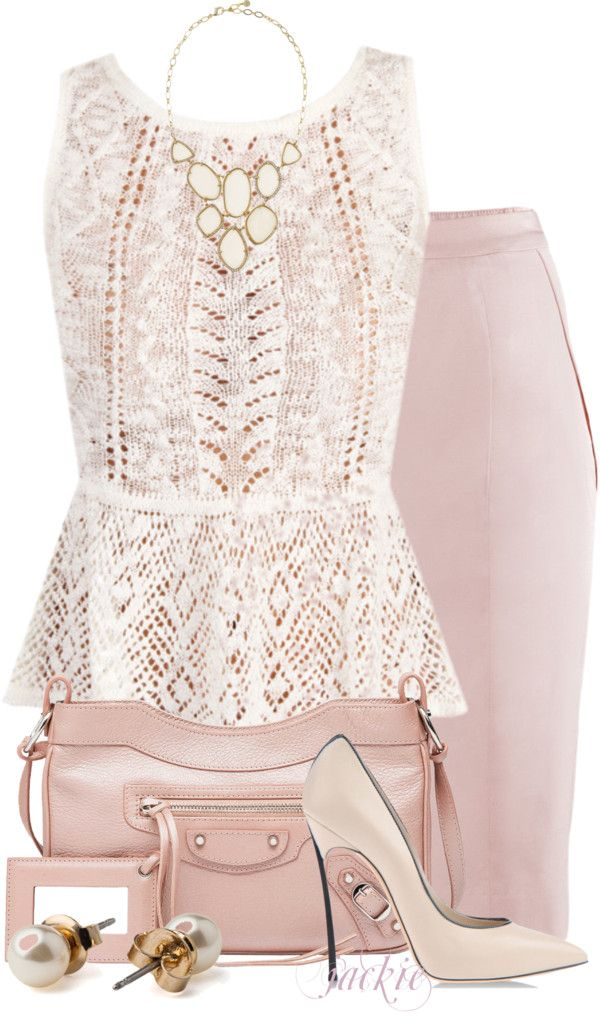 """Pencil Skirt 2"" by jackie22 ❤ liked on Polyvore"