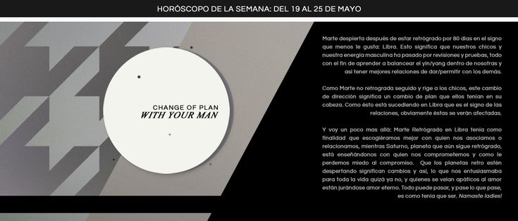 Horóscopo de la semana del 19 al 25 de mayo | #Miastral
