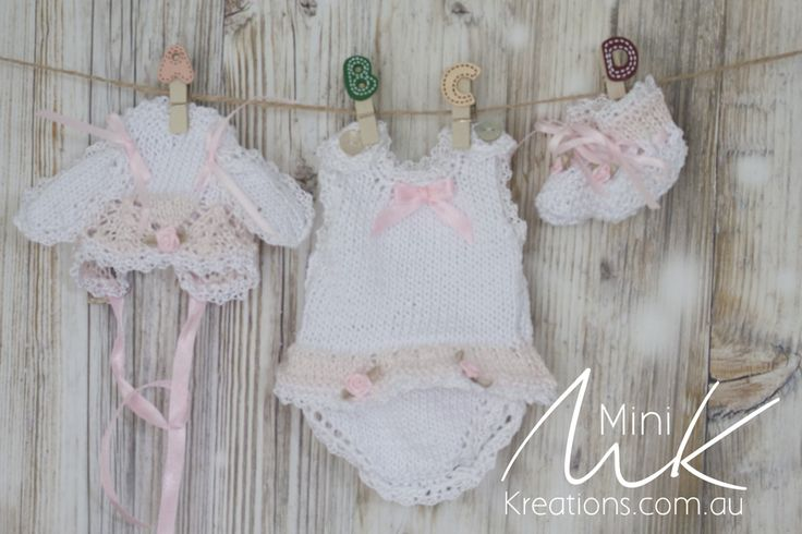 Summer Onesie Bunny to fit 9 inch dolls or LLE Wee Patience