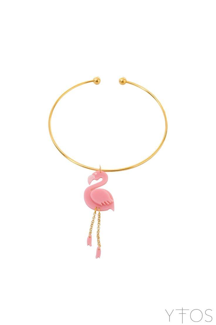 'Pink Flamingo' Necklace