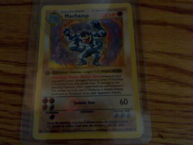 I found this in my old pokemon card box