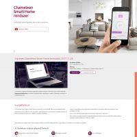 Honlap Modernizálás ajánlatkérő és eseménykezelő modul - Chameleon Smart Home