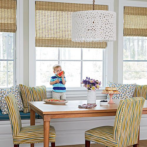 Stylish Florida Beach House | See how designer Andrew Howard infused this Jacksonville, Florida, home with fun colors, punchy prints, and kid-proof materials.