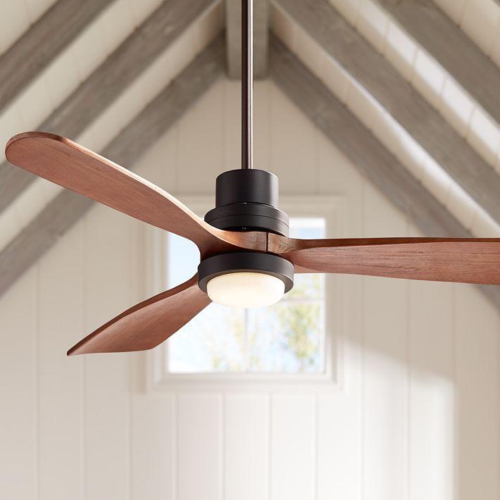 52 Casa Delta Wing Bronze Outdoor Led Ceiling Fan 9c710 Lamps Plus Ceiling Fan Modern Ceiling Fan Led Ceiling Fan