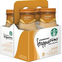 Starting the week of 9/21, CVS will have Starbucks  Frappuccino or DoubleShot 4 pks on sale for $4.99 with a free Starbucks Iced Coffee 11 oz with your purchase of one. Here's how to get an even better deal:  Buy 2 Starbucks Frappuccino or DoubleShot 4 pks $4.99 ($9.98) Buy 2 Starbucks Iced Coffee 11 oz (Free with purchase) Use $4/2 Starbucks Product printable Final Price: $5.98 for 10 bottles ($.60 each)
