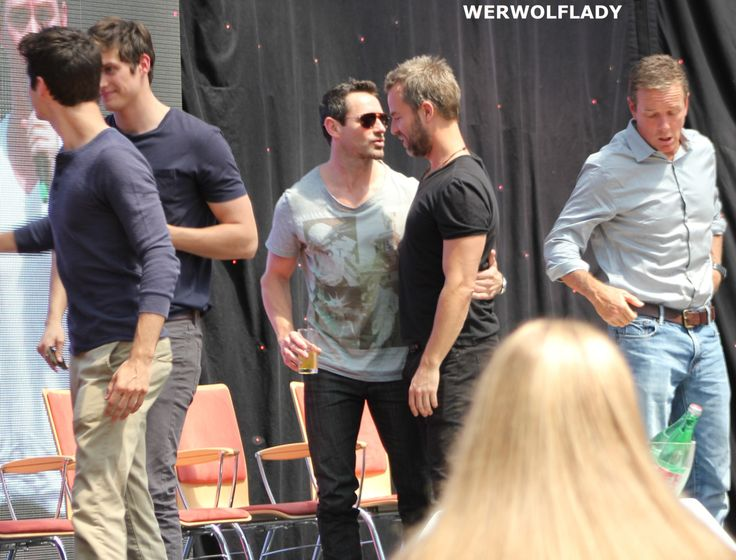 Ian and Nick meet-cute at a demonology conference in Marseilles.