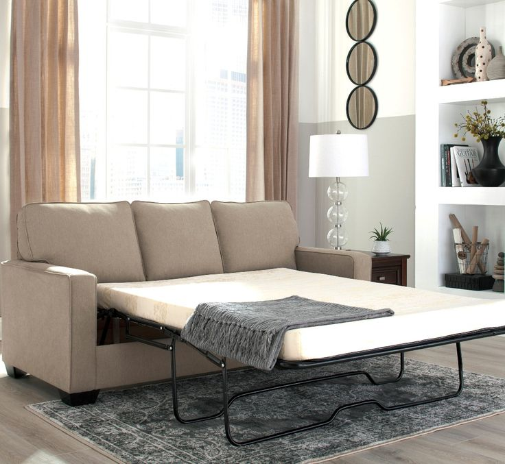Shelby Queen Memory Foam Mattress only $1299 including tax & free local delivery!  #sofa #palluccifurniture  https://www.palluccifurniture.ca/shelby-queen-sofa-bed-beige-fabric/
